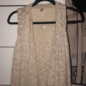 Urban outfitters ecote vest cardigan